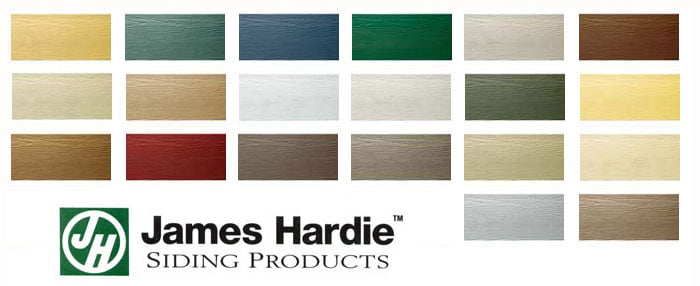 James Hardie Cement Board Colors : Drytech roofing company hardie styles color aberdeen