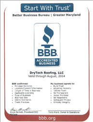 BBB Certificate for 2013 – we have been a member since 2010