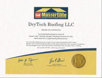 GAF MasterElite Certification